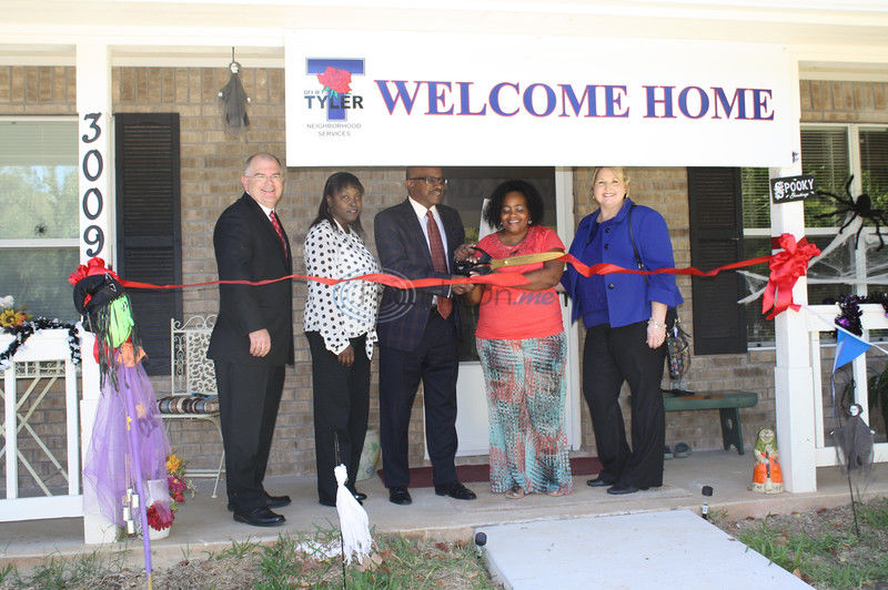 VIDEO: Tyler resident has a new home