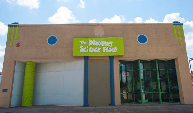 Come join us today at the Discovery Science Place