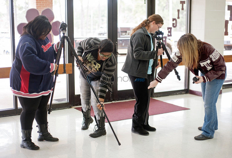 Troup students gain hands-on experience through video classes