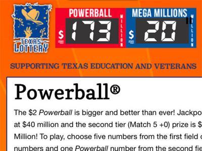 Million dollar winning Powerball lottery ticket sold in East Texas