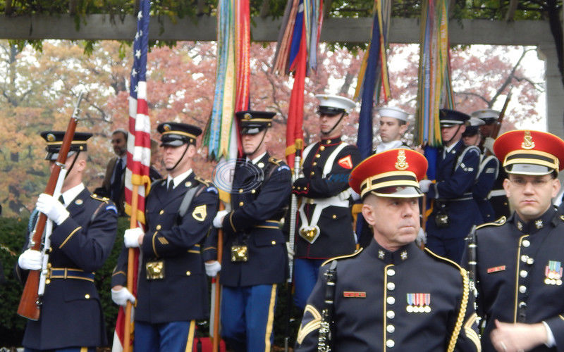 Bugler who played 'Taps' at JFK funeral honored - Mineola man joins fellow buglers in remembering Sgt. Keith Clark