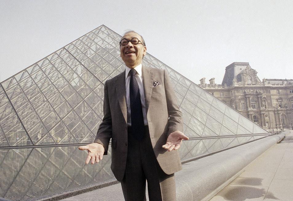 I.M. Pei, designer of Louvre Pyramid, dies