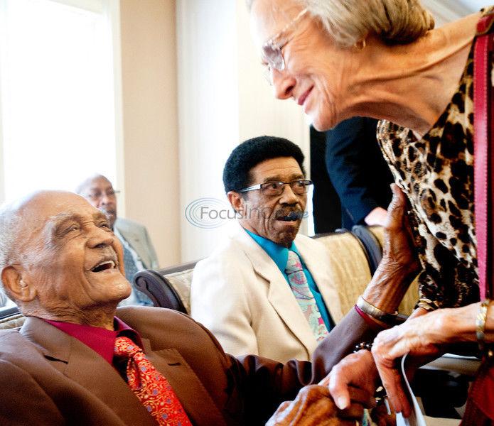 World War II veteran honored
