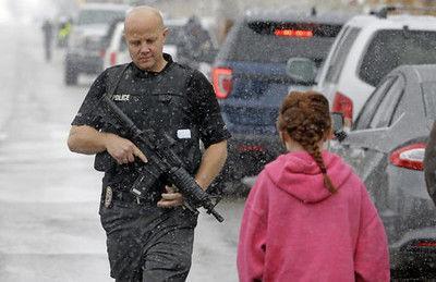 Teenager brings guns to school, but his parents disarm him