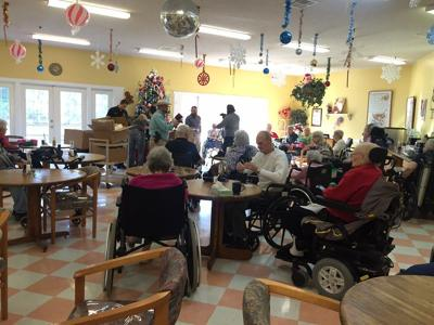 Gifts distributed to residents of Henderson County nursing and assisted living homes