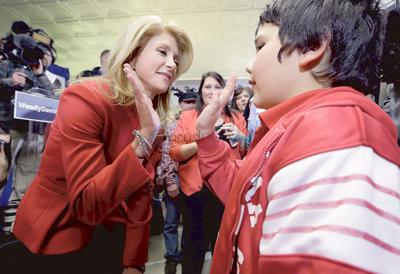 Sen. Wendy Davis to appear at Tyler eatery