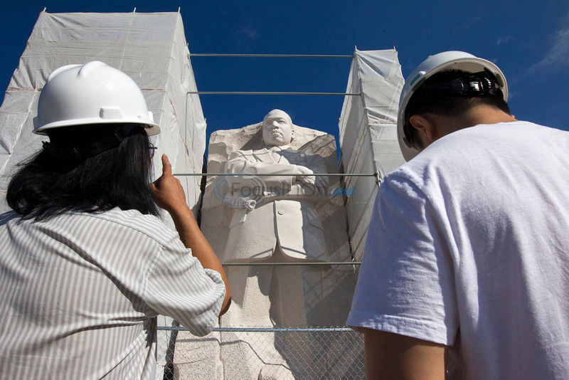 MLK memorial work to be finished for anniversary