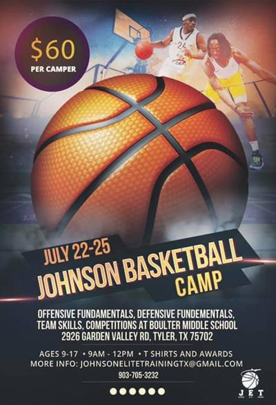 Johnson basketball camp