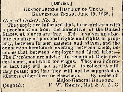 Editorial: Juneteenth is now a national holiday