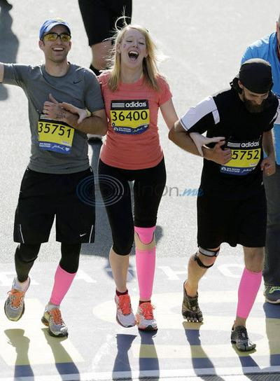 American Airlines loses marathon bombing survivor's prosthetic leg