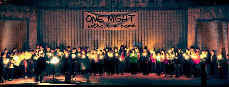 Cold, Hard Reality: 'One Night' participants describe overnight, homeless experience