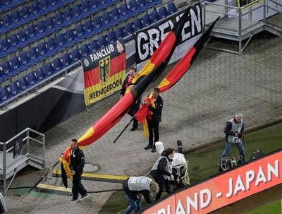 Germany-Netherlands match called off shortly before kickoff, 'concrete' evidence of an attack