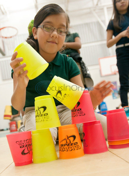 For the record books: Thousands participate in 'world's largest sport stacking event'