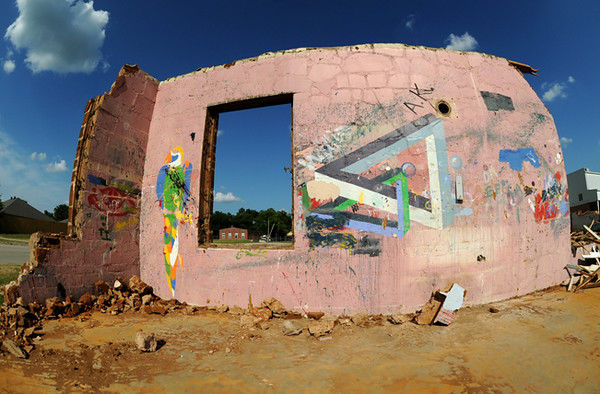 Faux Alamo: 1930s WPA project succumbs to the wrecking ball