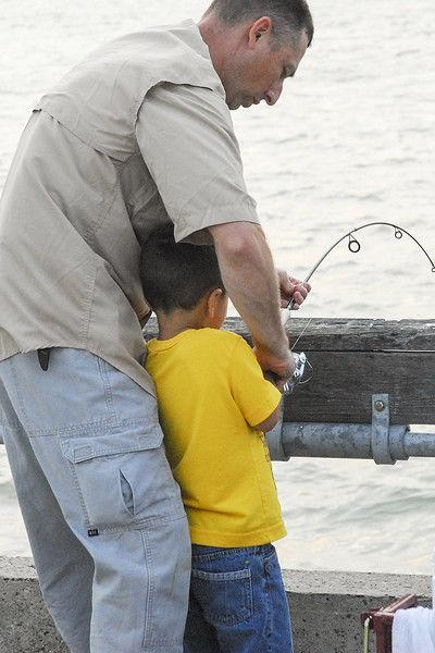 Free fishing day chance to introduce someone new to sport