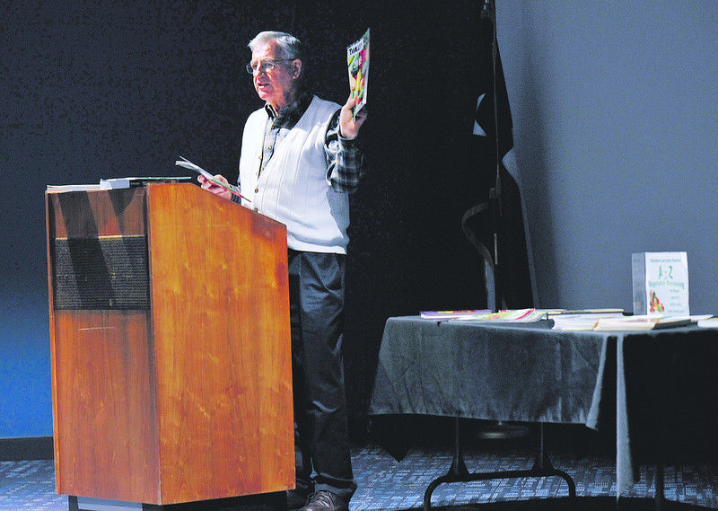 Master Gardener gives tips on vegetable gardening during Monday lecture at the library