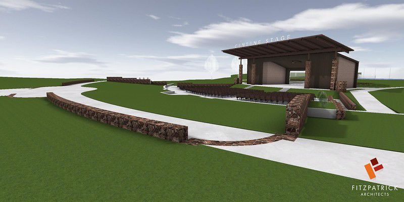 Response from state on Bergfeld Amphitheater upgrades expected next week