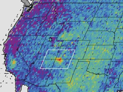 Scientists ponder methane mystery over Southwest US