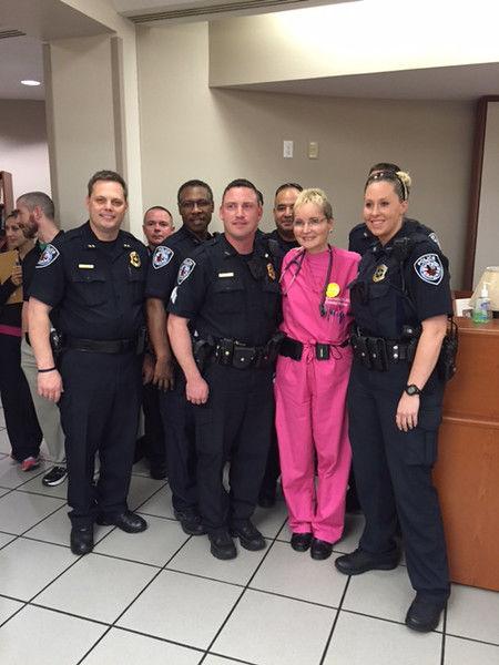 Tyler Police raise $1,500 to help cancer foundation