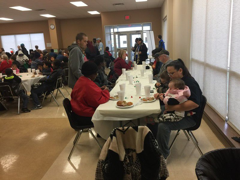 Hiway 80 Rescue Mission serves Christmas meal