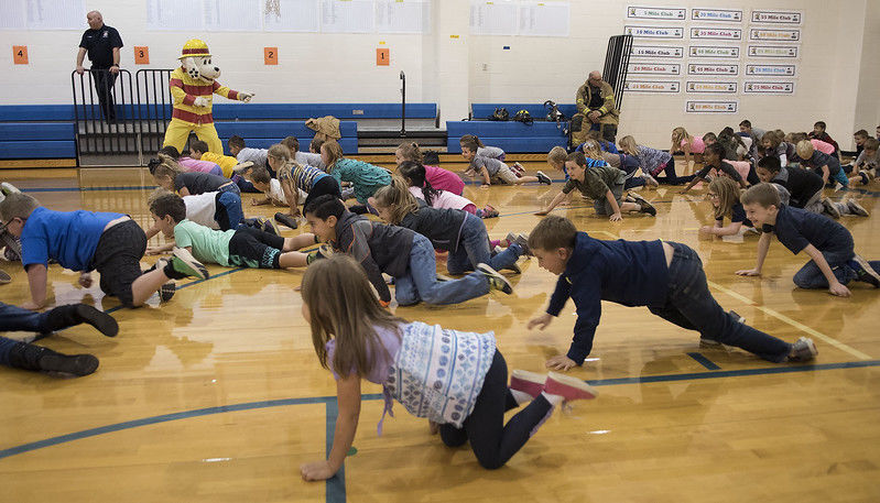 Lindale Fire Department makes fire prevention fun