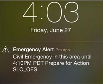 Sirens, phones sound erroneous alert in California