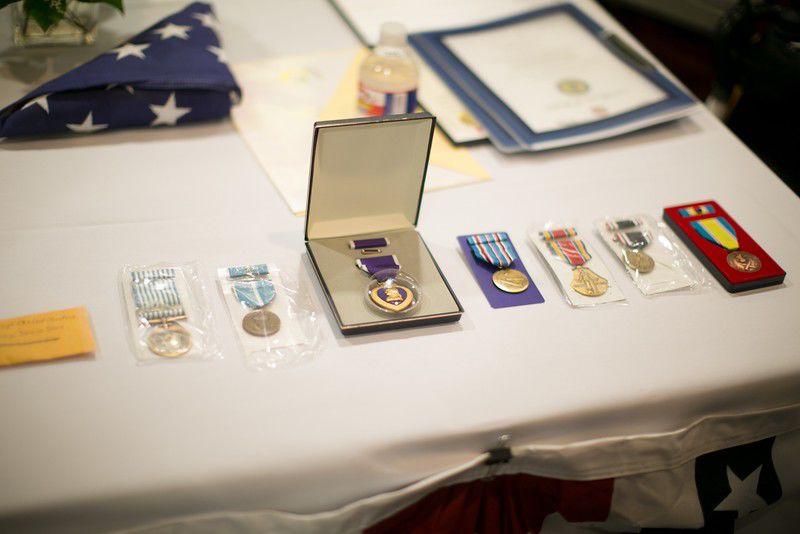 Medals presented to Longview man believed to be last surviving East Texas World War II prisoner of war