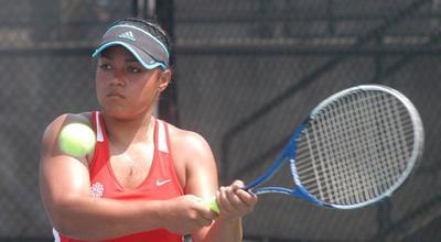 NJCAA National Women's Tennis Tournament is under way