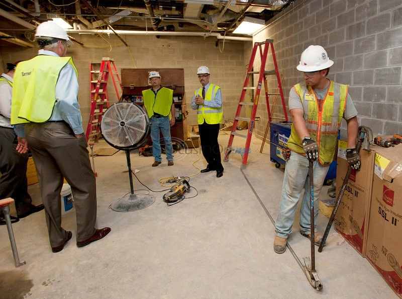 Aesthetics added benefit to facility layout, flow