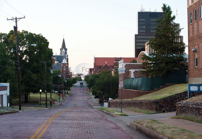Tyler's 13.8 miles of brick streets give East Texas town historic charm
