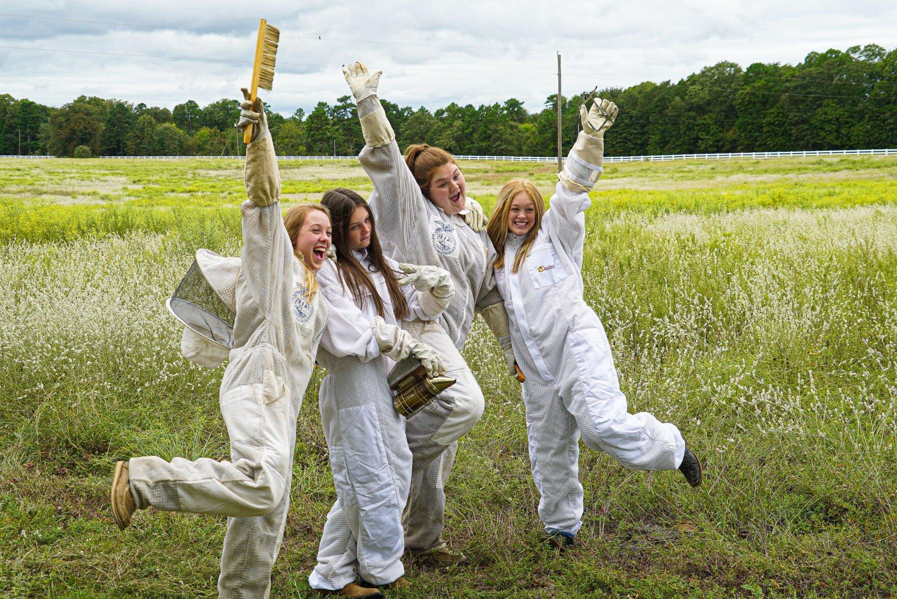 Hawkins 4G Honey team continues beekeeping operation, triples honey production at Ozarka amid COVID-19 shutdowns