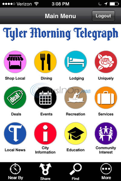 Tyler Paper launches app Tyler Hubciti