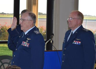 Civil Air Patrol's Tyler Composite Squadron holds Change-Of-Command Ceremony