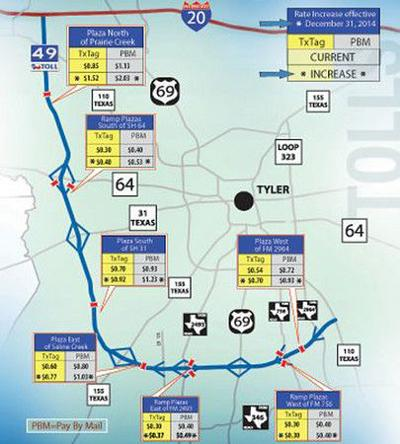 Shortcuts: Usage of Toll 49 is up; revenue rises as rates increase