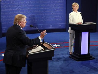 AP: Donald Trump, Hillary Clinton and their debate claims