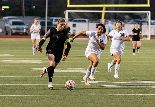 High School Soccer:Tyler Lee Lady Raiders defeat Longview 8-2 for head coach Chris Woodard's 400th win