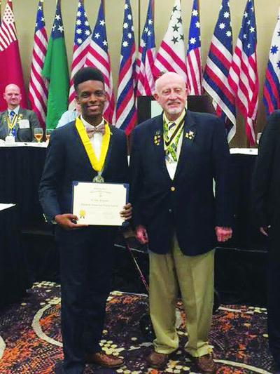 John Tyler senior wins SAR State Oration Contest