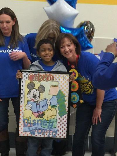 Nine-year-old Jacksonville cancer patient gets dream of going to Disney World