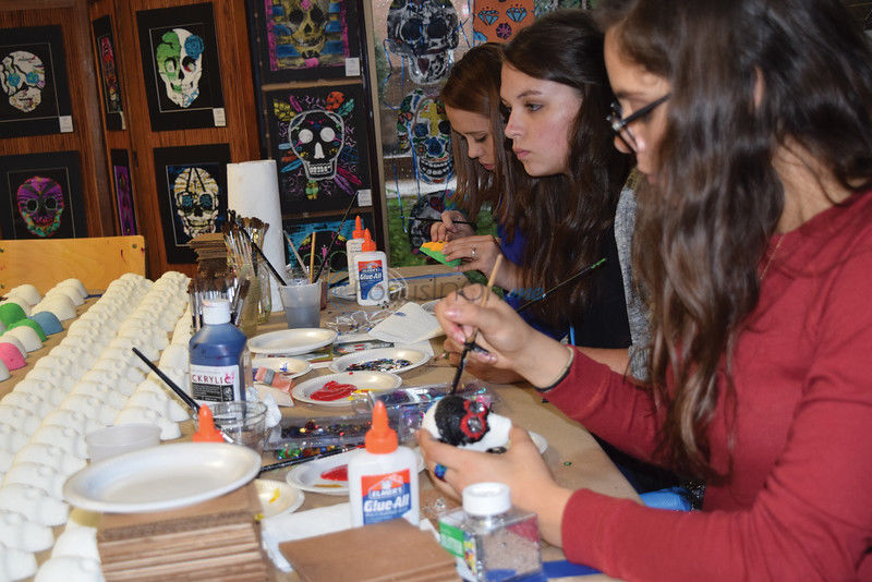 Tyler Museum of Art Celebrates Day of the Dead with Community