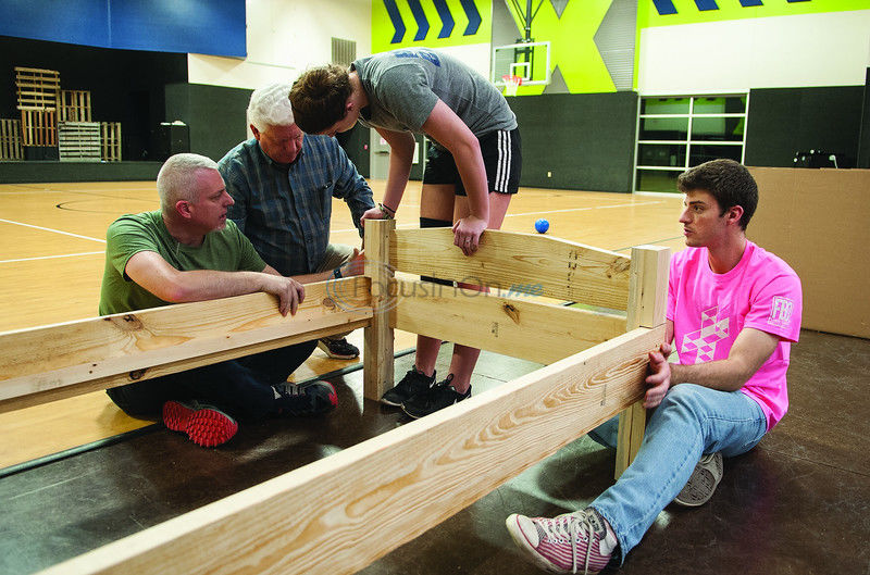 Bed building event gives kids much needed peace