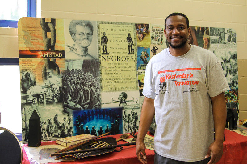 We are Family, black history exhibit draws crowd at Glass Recreation Center