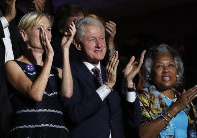 History and hostility as Clinton ascends to nomination