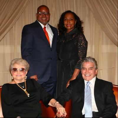 Louise H. and Joseph Z. Ornelas were presented the UT Health Northeast Galaxy Award
