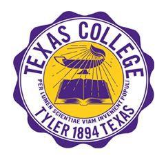 Texas College school logo