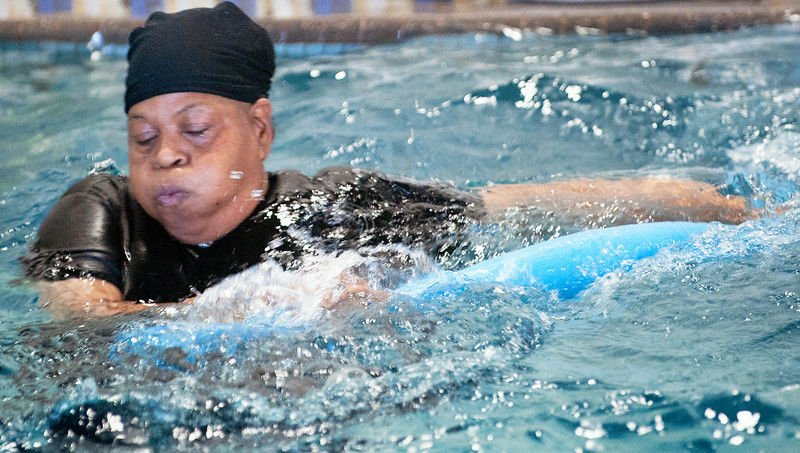 Watery Workouts: When it's sweltering, take a dip to stay fit