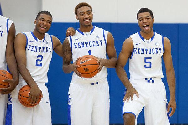 Harrison twins behind Kentucky's Final Four run