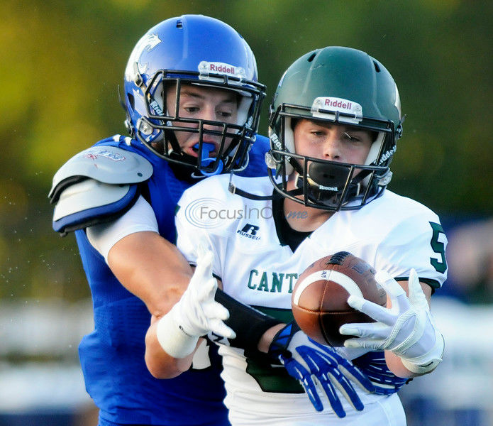Eiland runs, passes Canton over Grace in season opener