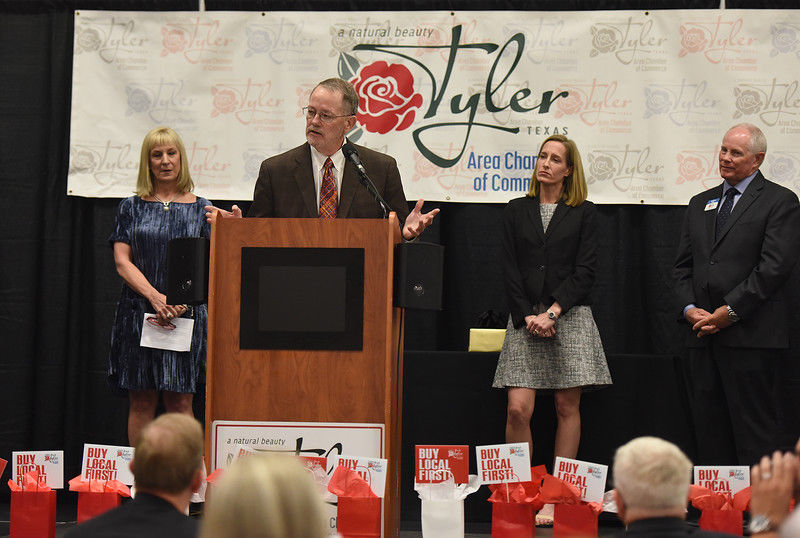 Doug and Mary McSwane named T.B. Butler recipients as Tyler's most outstanding citizens