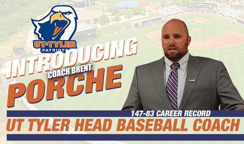Porche named new UT Tyler baseball coach