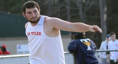 UT Tyler's Thompson places fifth in discus